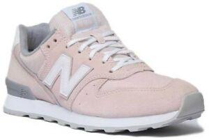 Propio Civil medida  New Balance 996 Mujer de Ante Rosa Claro Zapatillas Grises Talla UK 3-8 |  eBay