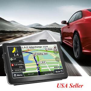 Details about 【2-5day】7''Truck Car Navigation GPS Navigator SAT on sat prep book, sat score chart 2014, sat cartoon,