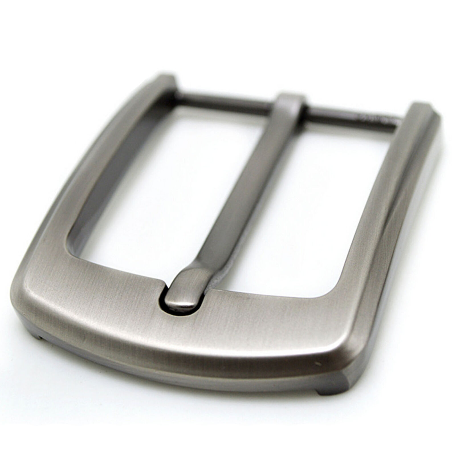 Stainless Steel Pin Buckle fit for Men Leather Belt Replace Snap On 40mm Fashion