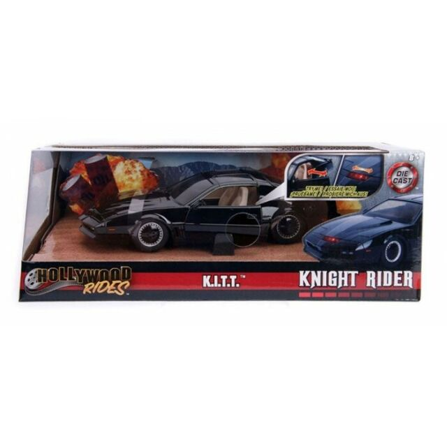 Modellino Hollywood Rides Supercar Knight Rider 1:24