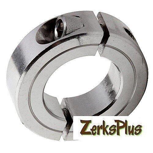 Metric Stainless Double Split 15mm Shaft Collar  M34 x 15 x 13