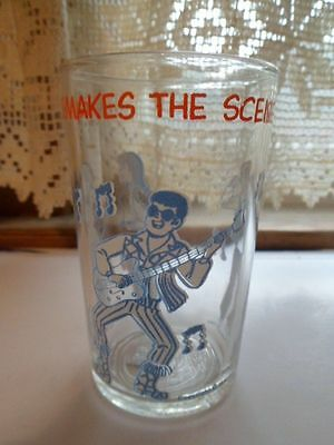 VINTAGE 1971 Welch/'s Archie Jelly Jar Glass-Reggie Makes the Scene V1