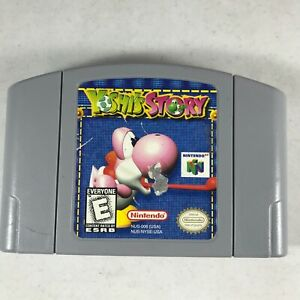 Yoshi-039-s-Story-Nintendo-64-1998-N64-Tested-Authentic-Game-Cartridge-Only