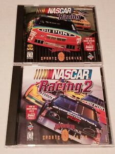 Lot Of ( 2) Nascar Racing All American Sports Series CD-ROM Windows 95 PC Games