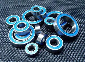 Rubber Ball Bearing Set For TAMIYA 58606 Alfa Romeo 155 V6 TI BLUE TT-02