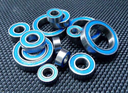 BLUE Rubber Sealed Ball Bearing For TAMIYA 58537 Desert Fielder TA-02T TA02T