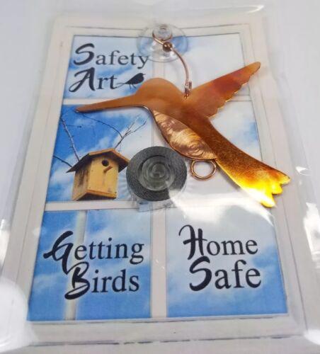 Window Bird Alert Avoid Striking Glass Metallic Ribbon Deter Birds Suction Cup