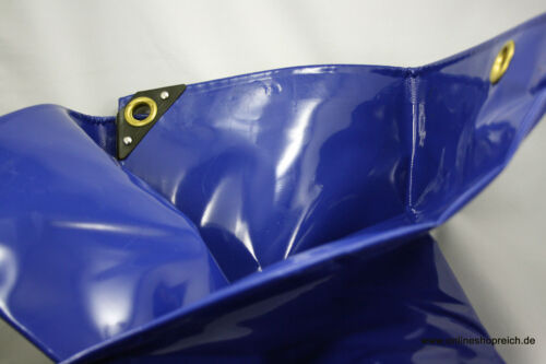 weiss blau 4,80 €//m² PVC LKW Plane Abdeckplane 650g//m Größen Farbe grün grau