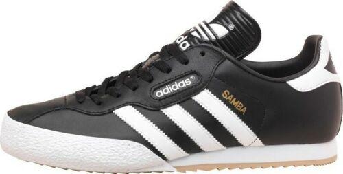 Originali Adidas Nero Uk Super Uomo Pelle Samba Numeri ggdrBZqn