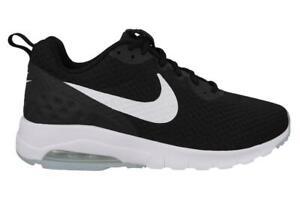 Detalles de Hombre Nike Air Max Motion Lw Zapatillas Negras 833260 010