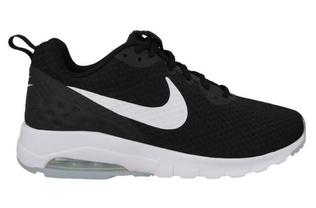 Mens Black Air Us 12 Motion Size 13 Nike Low 833260 Max 010 Uk White kXPZiu