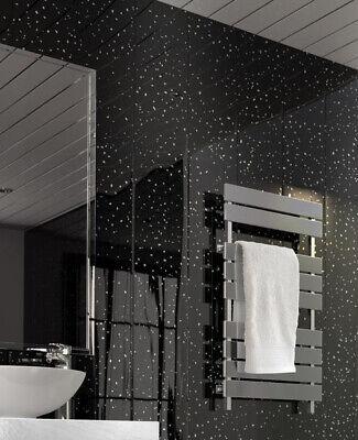 Black Sparkle Ceiling Wall Panel Cladding Shower Bathroom Sample