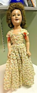 Deanna-Durbin-RARE-amp-COLLECTIBLE-1938-21-034-Ideal-Composition-Doll