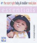 The Start Right Baby and Toddler Meal Plan by Catherine Atkinson (Paperback, 2004)