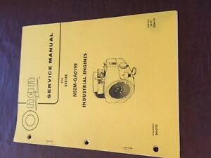 onan engine troubleshooting and service manual model n52m ga0199 rh ebay com onan engine service manual cckb Onan CCK Engine