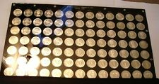 91 piece GRADING SET Silver Dollars of Canada BU to Superb Gem BU P/L 1965 - 67