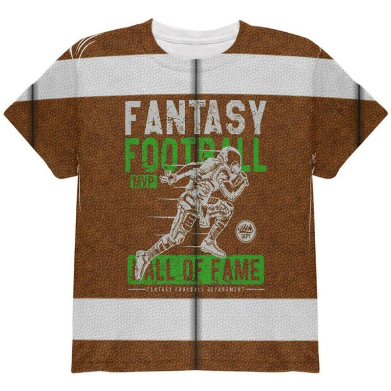 Fantasy Football Mvp Hall Of Fame All Over Youth T Shirt