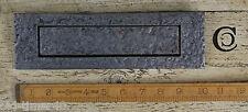 """10"""" x 3"""" Repro Plain Design Ant Iron Door Letter box Plate letterbox Vintage"""
