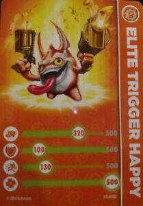 Spyro The Dragon Skylanders Eon/'s Elite Stat Card Only!