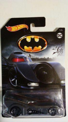 2018 Hot Wheels Batmobile #1//6 Gray 2018 DC Comics Series Diecast Batmobile