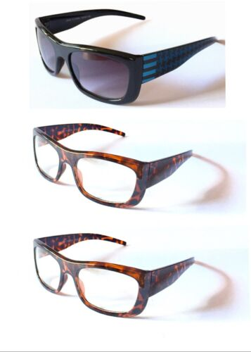 Y1249 Unisex Fashion Plain Optical Clear Lens Glasses UV400 Protected Sunglasses