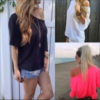 Damen Freizeit Tops Party Tank Top Bluse Shirts Tops Blusen Oberteil 36-46 Paket