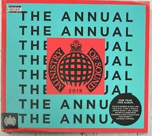 Various The Annual 2019 - Ministry of Sound (2CD) New Sealed