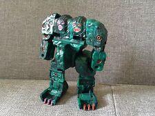 Vintage Transformers Bandai Gobot Rock Lord Transformer Boulder, Dark Green