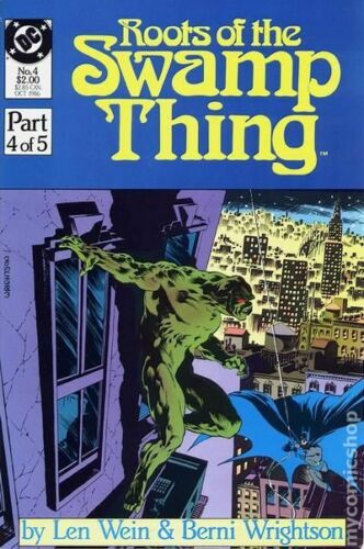 Roots of the Swamp Thing #4 FN 1986 Stock Image