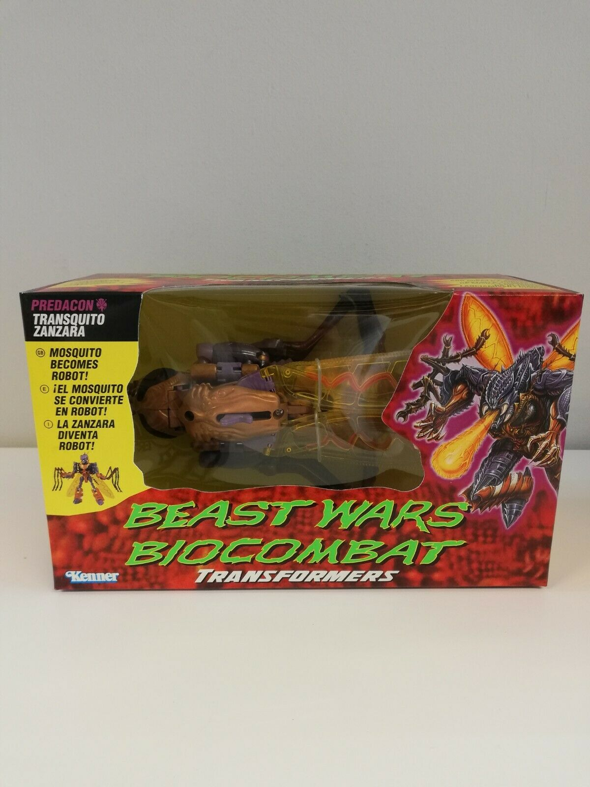 Antigüedades, Transformers, Besteias y Besteias contra bio - campbart, radar transquito, zanzara, Kenner 97.