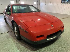 1986 Pontiac Fiero SE #Rare #Low kms #Collector