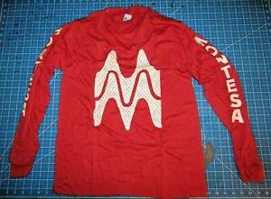 "Montesa ""Montesa"" Long Sleeve Red T-Shirt Tee Shirt Size USA Medium"