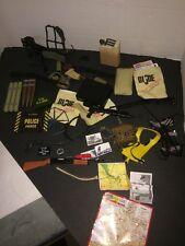 "G.I. Joe Top Secret Order, Maps, Guns, Pictures, Brief Case For 12"" Figures"