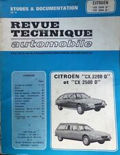 Revue technique CITROEN CX 2200 D 2500 D RTA CIP 3692