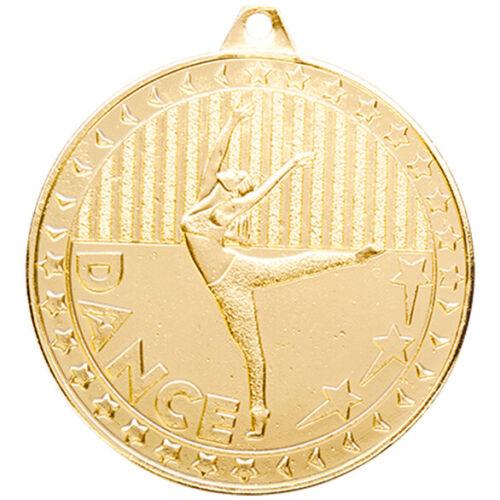Découverte de danse 50 mm Médaille Gravure Gratuite Ruban ukp/&p Ballet Street Robinet Moderne