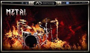 XLN Audio Metal ADPak Samples Addictive Drums 2 Drum Kit