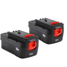 2x18 VOLT 2.0AH for Black & Decker Slide Battery HPB18 HPB18-OPE 244760-00 Ni-Cd