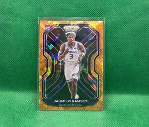 Jahmius Ramsey Rookie Orange Ice Prizm 2020-21 Panini Prizm Basketball #263