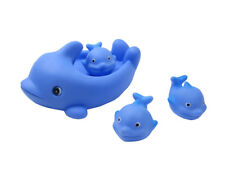 Floating Bath Tub Toy Playmaker Toys Rubber Hippo Family Bathtub Pals