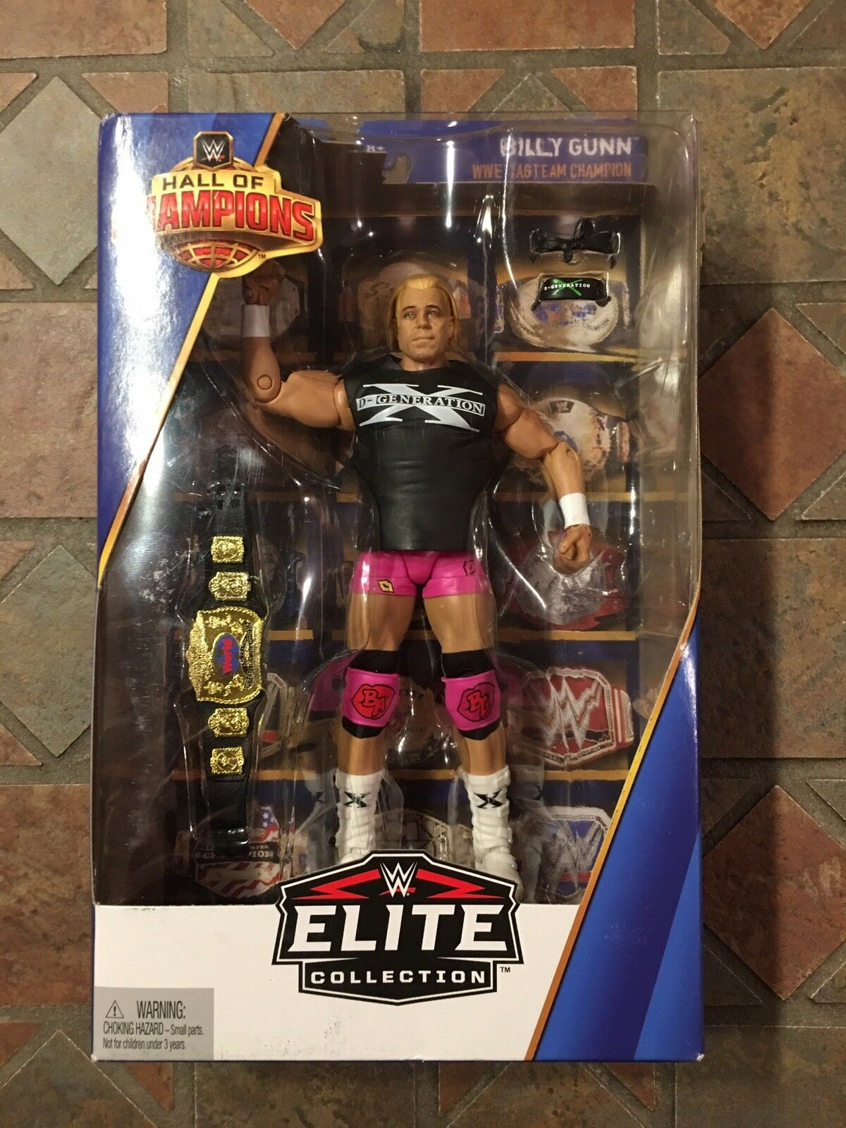 Mattel WWE Elite BILLY GUNN Target Exclusive Hall of Champions New Age Outlaws