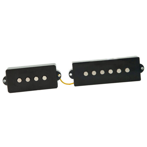 2 teiliges Bridge Neck Pickup Set für E Bass mit 5 Saiten