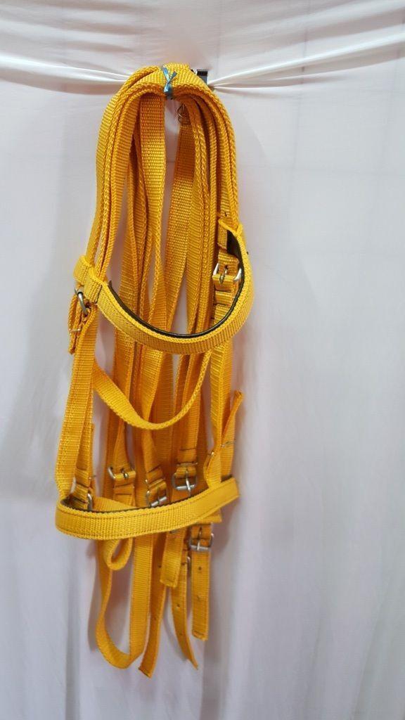 Venta al por mayor. Colors Mezclados 15 piezas auténtico caballo árabe Cuello Halter Auriculares 182