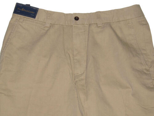 RL Polo Ralph Lauren Mens Solid Brown Navy Slim GI Fit Chino Pants New