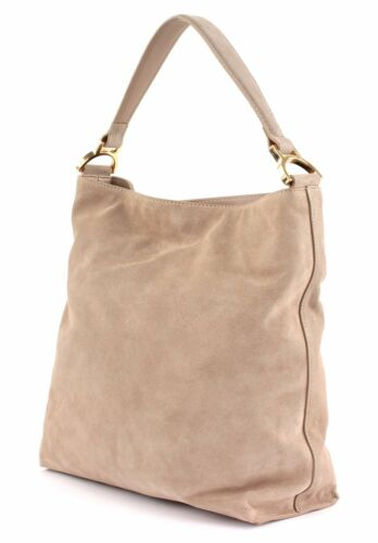 Coccinelle Suede Taupe Bag Hobo Arlettis M F60rwF