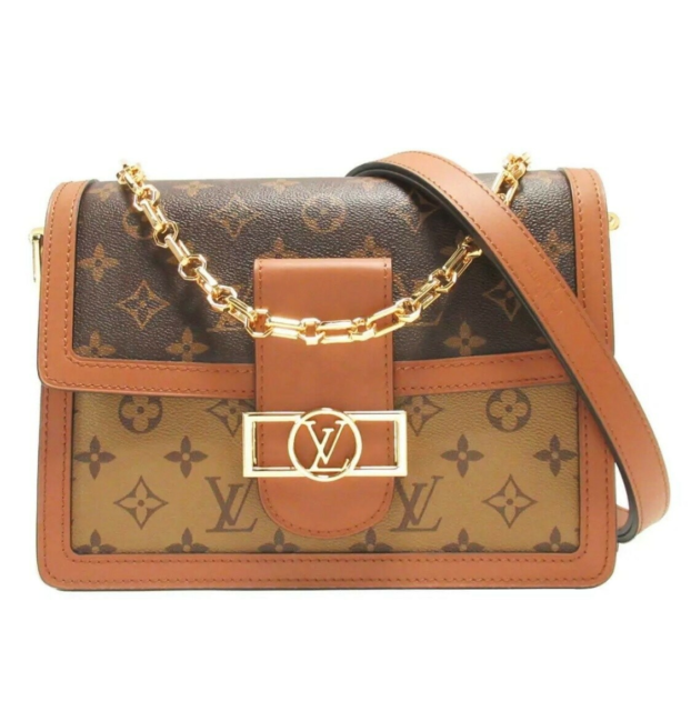 Crossbody, Louis Vuitton, læder, Louis Vuitton Dauphine…