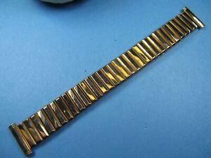 NEW-Kreisler-10K-Pink-Rose-Gold-Filled-Mens-Watch-Band-5-1-2-034-14-034-19mm-ends