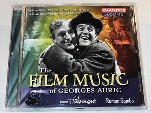 THE-FILM-MUSIC-OF-GEORGES-AURIC-THE-LAVENDER-HILL-MOB-MOULIN-ROUGE-CD-VG