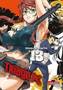 Deutsch NEUWARE Triage X 12 Carlsen Manga