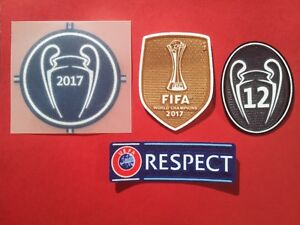 Patch-Football-Real-Madrid-Champions-League-2017-2018