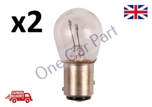 2x380 P21//5W BAY15D Brake Stop /& Luz trasera Bombillas de coche 380 12 V 21//5w OE Quality